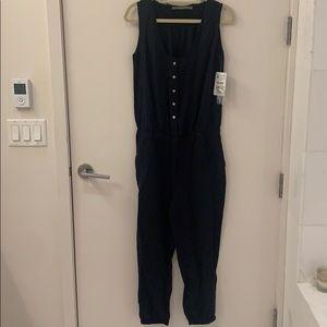NWT Zara navy jumpsuit